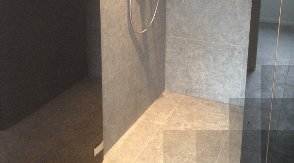 Douche in tegels Kronos 60 x 60 x 1.
