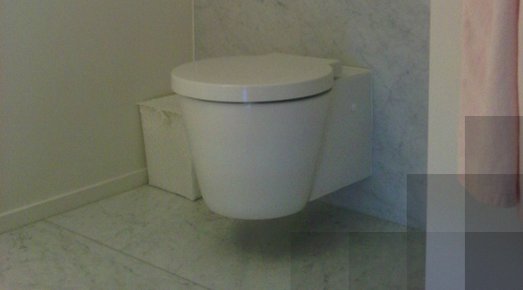 Toilet in carrara C extra.